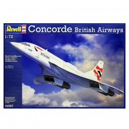 British Airways Concorde Airplane Model Kit