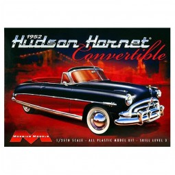 1952 Hudson Hornet Convertible Car Model Kit