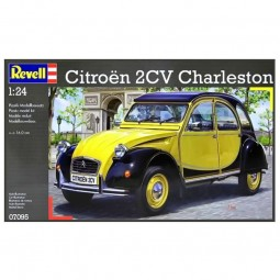 Citroen 2CV Charleston Car Model Kit