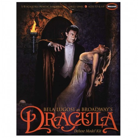 Deluxe Lugosi Broadway Dracula Horror Model Kit