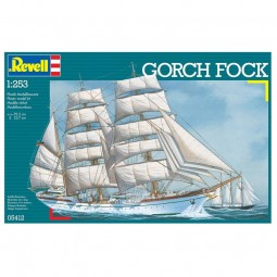 Gorch Fock Sailing Ship Model Kit