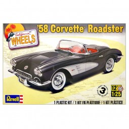 1958 Corvette Roadster Car Model Kit
