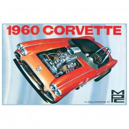 1960 Chevy Corvette Car Model Kit