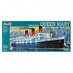 Queen Mary Cruise Liner Ship Model Kit