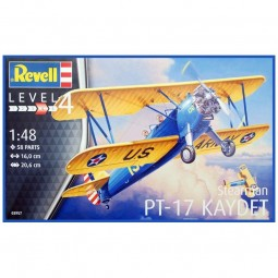 Stearman P-17 Kaydet Airplane Model Kit