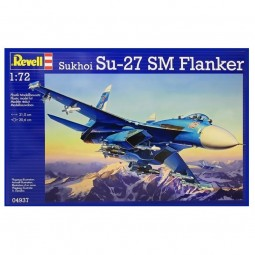 Sukhoi SU-27 SM Flanker Airplane Model Kit