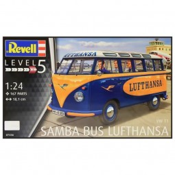 VW T1 Samba 'Lufthansa' Bus Model Kit