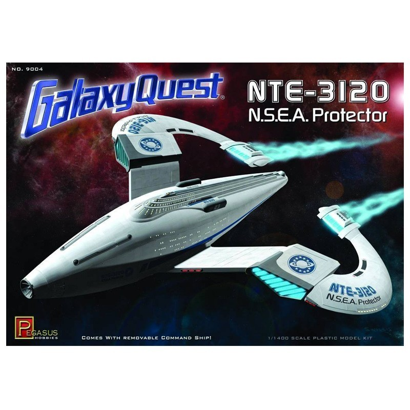 Galaxy Quest Ship: Galaxy Quest NSEA Protector Model Kit