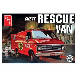 1975 Chevy Rescue Van Model Kit