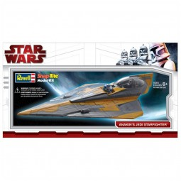 Anakin's Jedi Starfighter Spacecraft Model Kit