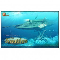 Nautilus Submarine Scale Model Kit
