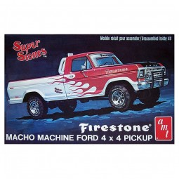 1978 'Firestone Super Stones' Ford Pickup Truck Model Kit