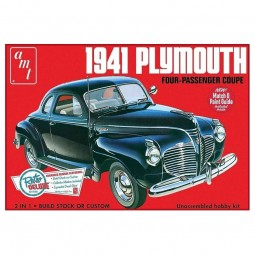 1941 Plymouth Coupe Car Model Kit