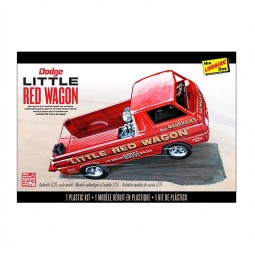Dodge 'Little Red Wagon' Van Model Kit