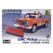 GMC Pickup with Snow Plow Truck Model Kit