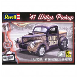 1941 Willys Pickup Truck Model Kit