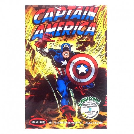 Captain America Superhero Model Kit