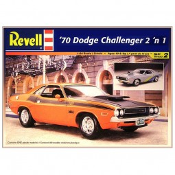 1970 Dodge Challenger T/A 2 'n 1 Car Model Kit