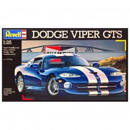 Dodge Viper GTS Coupe Model Car Kit