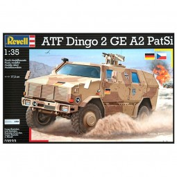 ATF Dingo 2 GE A3.3 PatSi Military Model Kit
