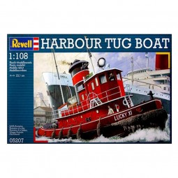 Harbour Tug Boat Model Kit