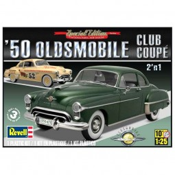 1950 Olds Coupe 2 'n 1 Car Model Kit