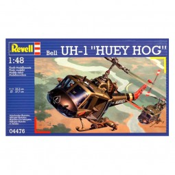 Bell UH-1 'Huey Hog' Helicopter Model Kit